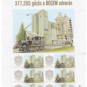 377,265 gőzös a BÉCEM udvarán
